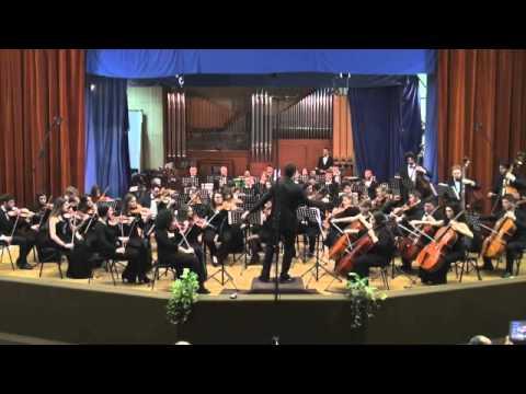 Schubert Sinfonia n.8 mvt 1 - Orchestra degli allievi (Conservatorio Cimarosa)