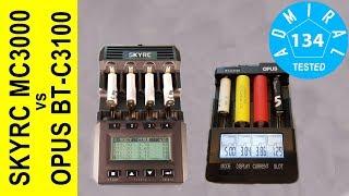 Обзор SkyRC MC3000 и Opus BT - C3100 V2.2