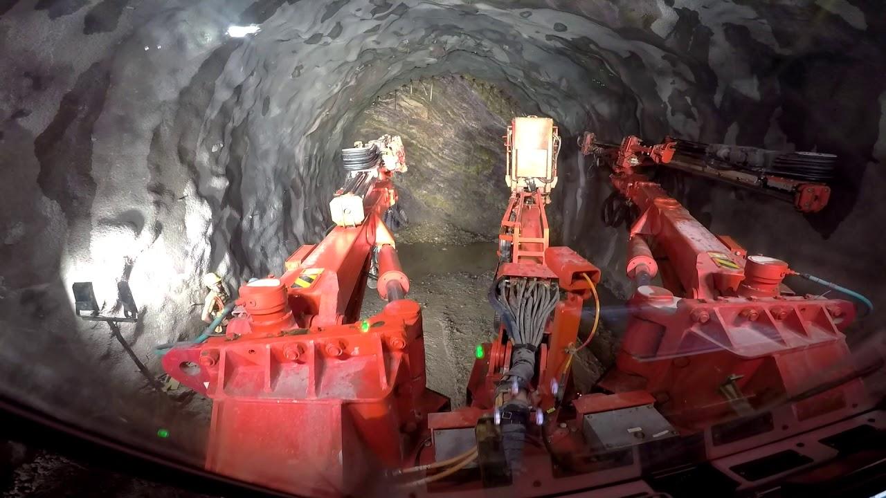 Sandvik DT922i Rail Vikas Nigam Ltd Site in Rishikesh, India | Sandvik Mining and Rock Technology