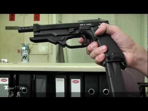KSC Metal M93R II Burst Mode GBB Airsoft Pistol [HD]