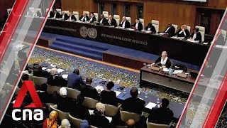 International Court of Justice holds genocide case hearings against Myanmar