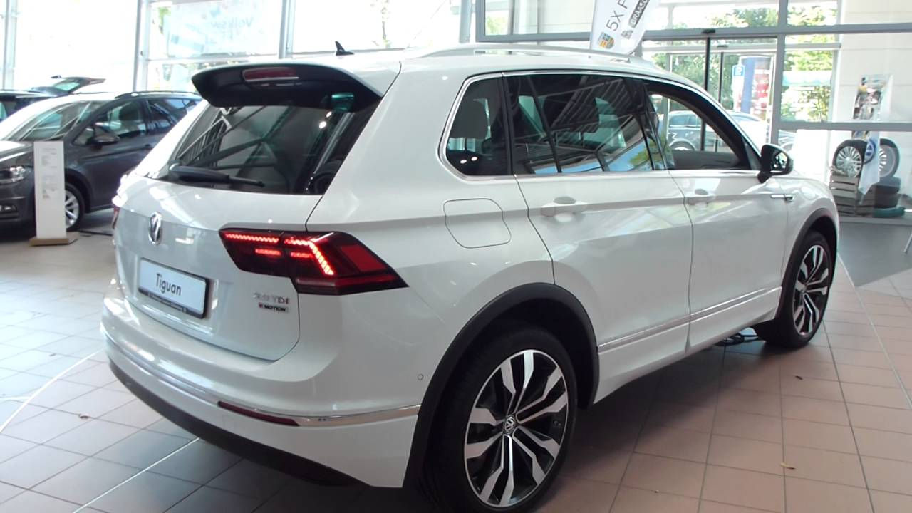 Tiguan Gris Indium >> 2016 VW Tiguan II 2.0 TDI '''R-Line'' Exterior & Interior' 150 Hp * see also Playlist - YouTube