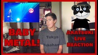 """BABYMETAL - """"Akatsuki"""" 紅月アカツキ Live (Reaction)"""