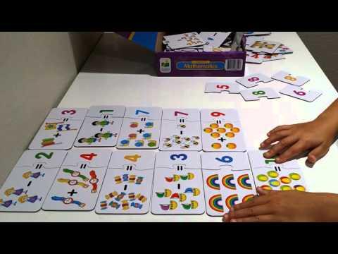 Kindergarten Pre-K Math Lesson Pre-k math game Preschool and Kindergarten Pre-K Math Lesson