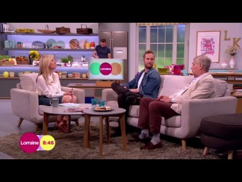James Fox And Son Jack On Working Together | Lorraine