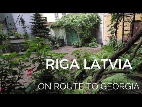 Riga Latvia on Route to Georgia