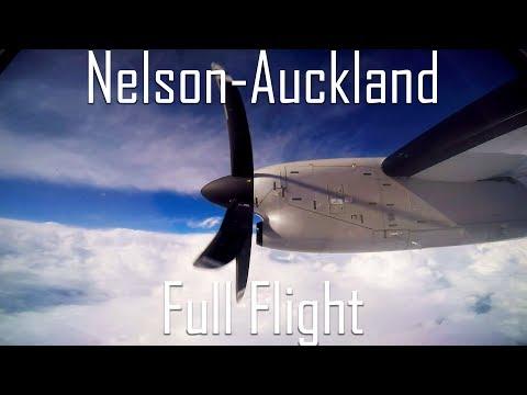 FULL FLIGHT   Nelson to Auckland (NZNS & NZAA)   JQ372   Q300   Startup to Shutdown