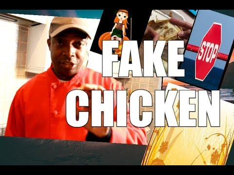 CANNOT BELIEVE THIS ! Fake Chicken ( New Recipe ) | Chef RicardFake Chickeno Cooking Shows 2108