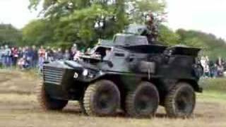 Armoured Car Alvis Saracen
