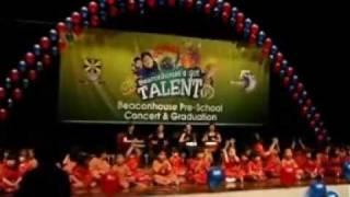 Beaconhouse Malaysia Pre-School Concert & Graduation - Sasa