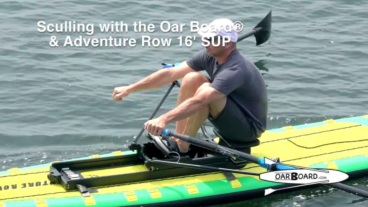 e1faa89009 Sculling the OarBoard® & Adventure Row 16 SUP