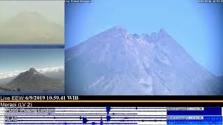 6/9/2019 - Mt Merapi TimeLapse