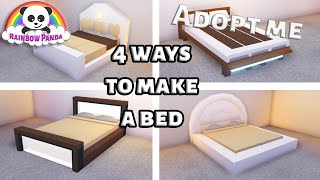 Adopt Me Bedroom Ideas 4 Ways To Make A Bed Youtube