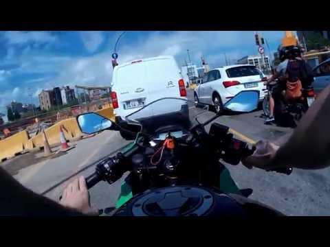 Barcelona en Kawasaki Ninja 250sl