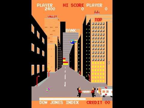 Wall Street (Century Electronics 1982)  Attract Mode 60fps