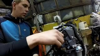 Ремонт мотора Suzuki DF 60 ATL 2012г. Часть 1я. Печальная(