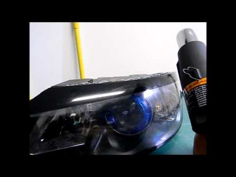 Tinting Headlight Time-lapse Video on 2004.5 Volvo S40 | Doovi