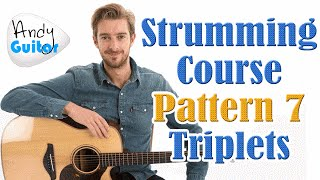 Strumming Course Pattern 7 - Triplet 'folk' style strumming