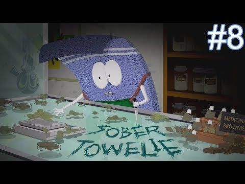 Sober Towelie Boss Fight - South Park The Fractured But Whole Let's Play Part 8 Playthrough Gameplay