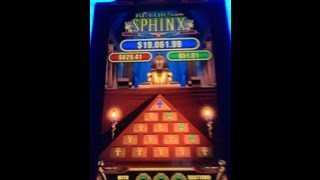 Return Of The Sphinx Slot Machine Pyramid Bonus