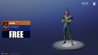 Fortnite Battle Royale - HOW TO GET FREE FLYTRAP OUTFIT!