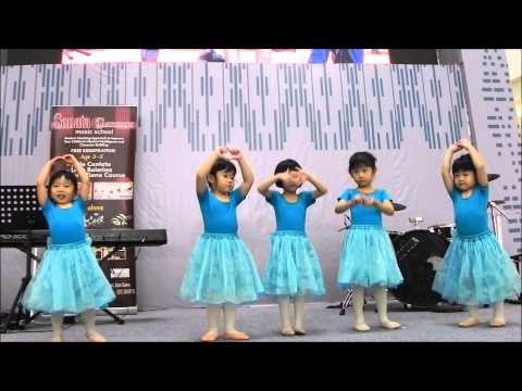 Sonata Cantata Music School - Little Ballerina Performance