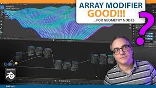 Array Modifier GOOD! | Geometry Nodes Blender 3D Free Tutorial