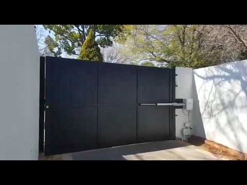 Automatic Single Swing Driveway Gate 0836294562 Youtube