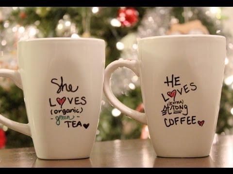 DIY Personalized mug + Holiday Gift Idea - C2C Day 6