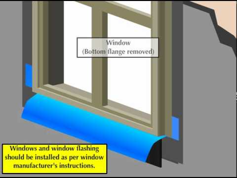 Full Veneer Stone Installation Window Detail
