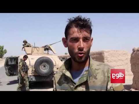 Afghan, U.S Air Strikes Intensify As War Continues In Helmand/شدت گرفتن حملههای هوایی در نبرد هلمند