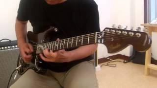 Fender Japan ST71/ASH (WAL) でイングヴェイやってみました。