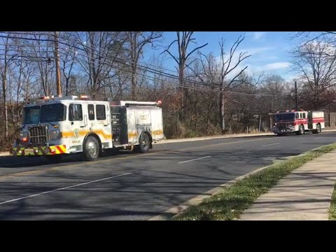 Anne Arundel County, MD units responding