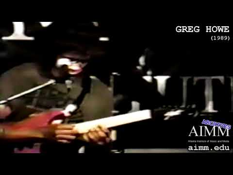 AIMM Archives - Greg Howe (1989)
