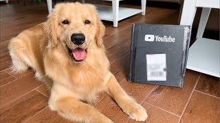LIVE - Unboxing YouTube Play Button