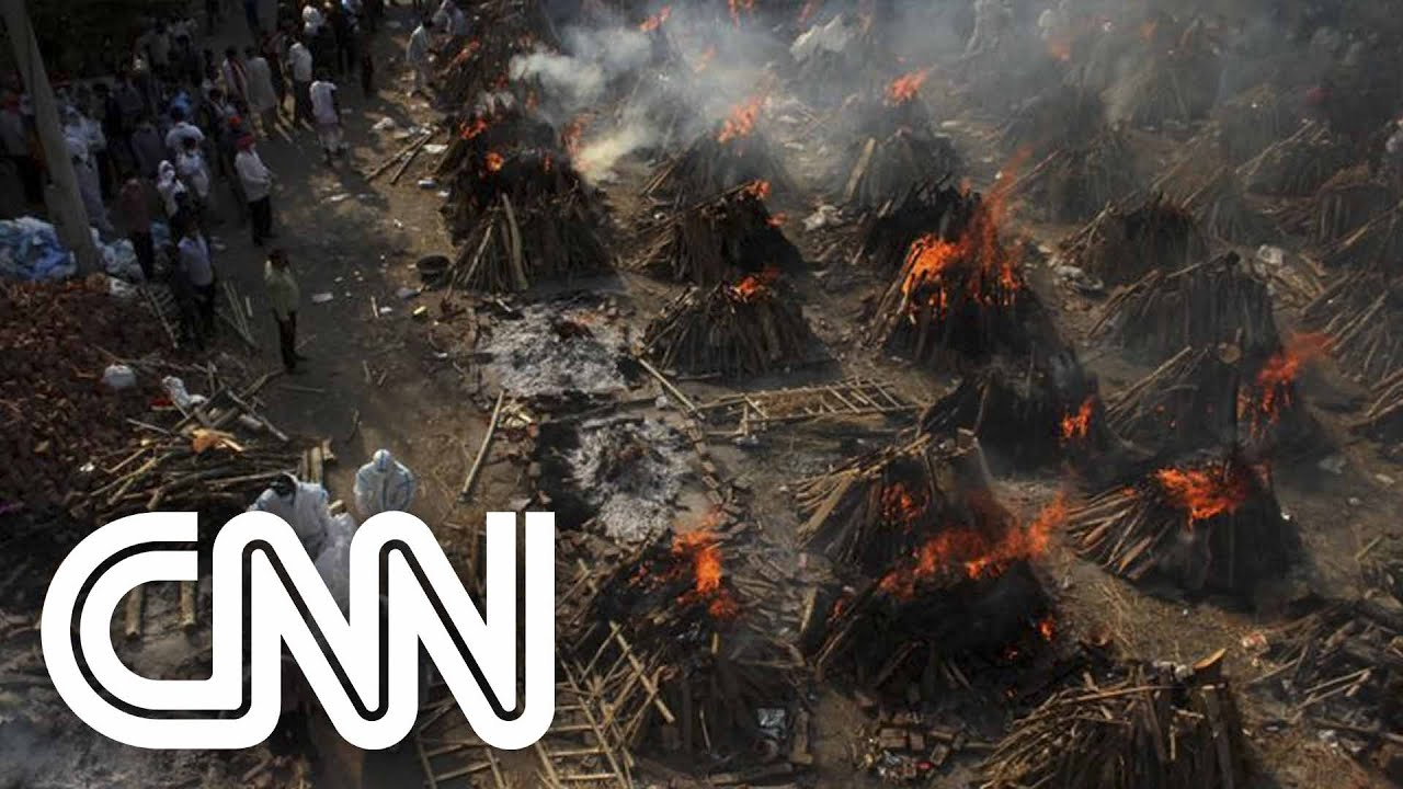 Índia bate recorde de mortes diárias por Covid-19 | CNN DOMINGO