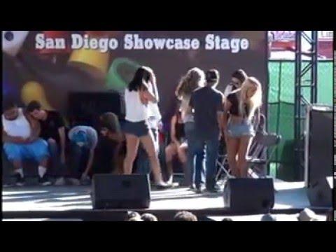 Delmar Fair Hypnotist Show 2013 Part 1