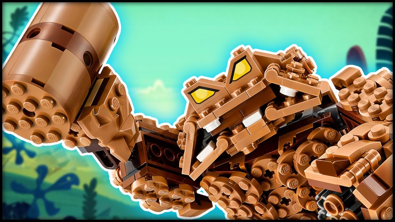The LEGO Batman Movie Clayface Splat Attack 70904 Review