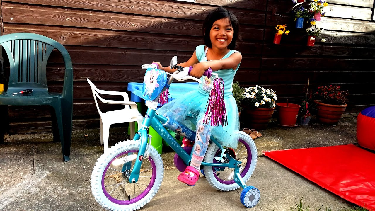 Girls 14-inch Bike