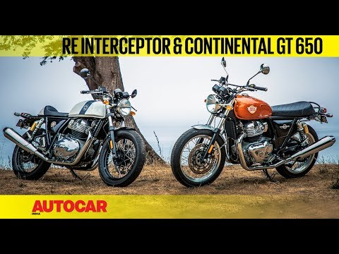 Royal Enfield Interceptor & Continental GT 650 | First Ride Review | Autocar India