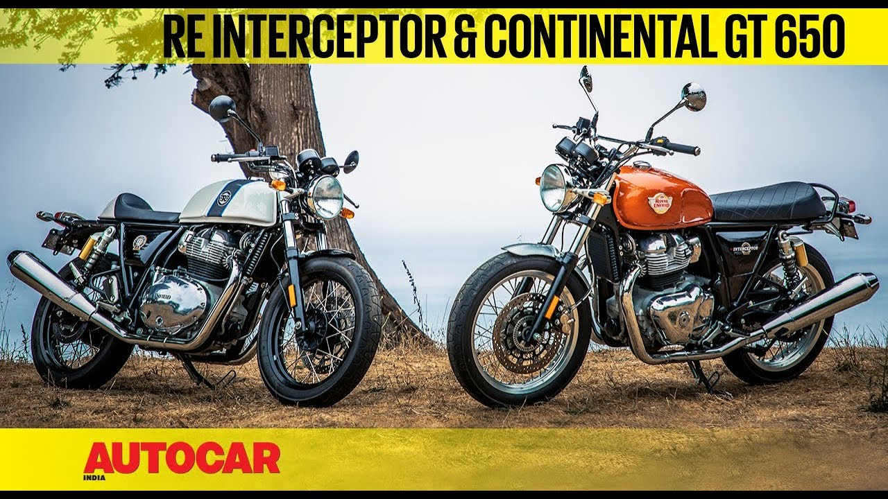 Royal Enfield Interceptor Continental Gt 650 First Ride Review