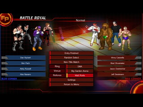 Fire Pro Wrestling: Unfinished 07/17/2017