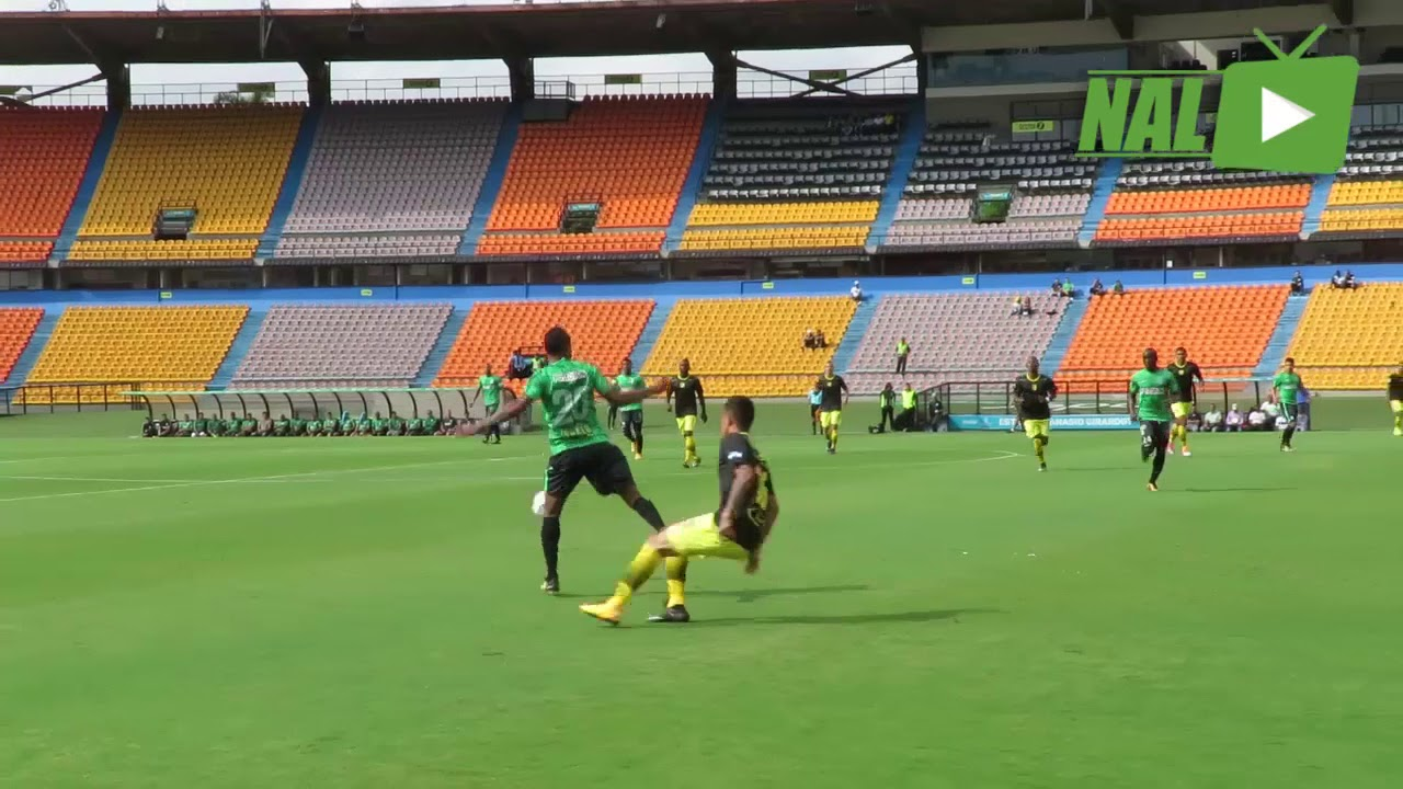 Partido amistoso Atlético Nacional vs Leones - YouTube