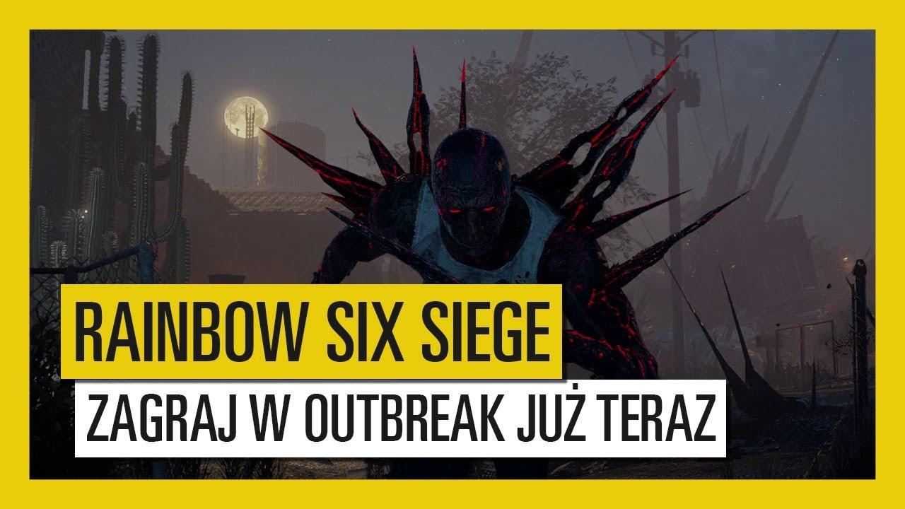 Tom Clancy's Rainbow Six Siege – Zagraj w Outbreak już teraz