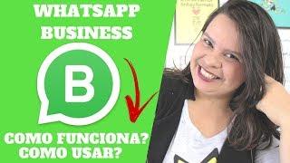 🔴 WHATSAPP BUSINESS como funciona? como usar? | Kerlia Souza