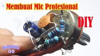 Cara Membuat Preamp Mic Profesional headset bekas Penguat Mic Ide kreatif DIY