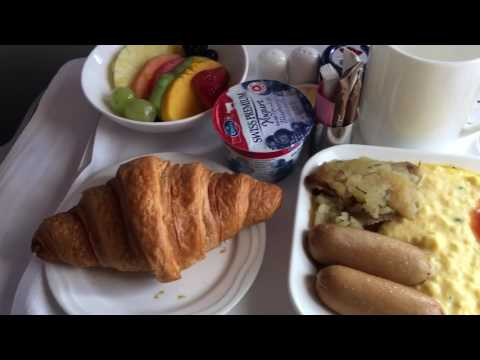 Emirates Business Class Airbus A380 DXB LAX Flight Experience 11-30-16