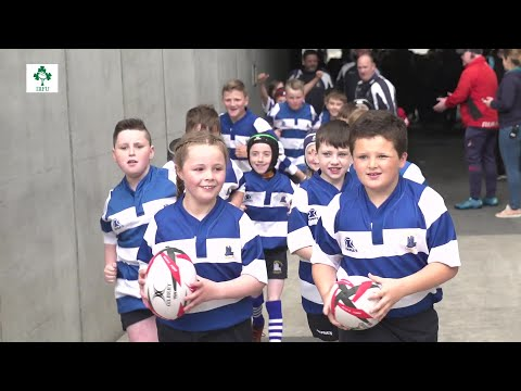 Irish Rugby TV: National Aviva Mini Rugby Festival - Aviva Stadium