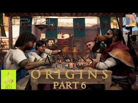 Assassin's Creed: Origins [ PS4 ] - Walkthrough Part 6 | Nightmare Mode | 100%