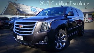 2017 Cadillac Escalade ESV Premium Luxury 6.2 L V8 Review